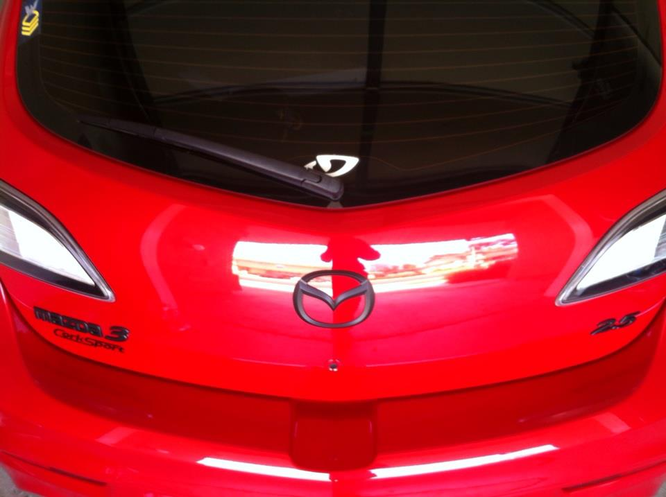Plasti dip emblems | 2004 to 2016 Mazda 3 Forum and