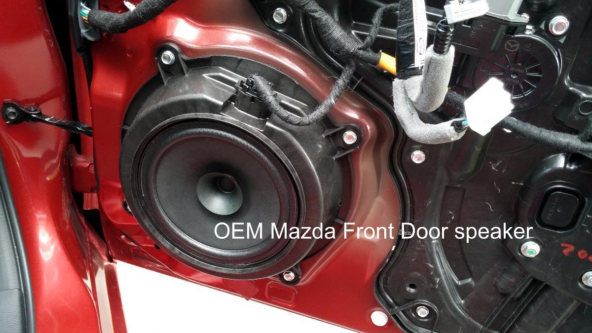 Speaker upgrade - 2015 Mazda3 GS non-Bose 6 speaker system | 2004 to