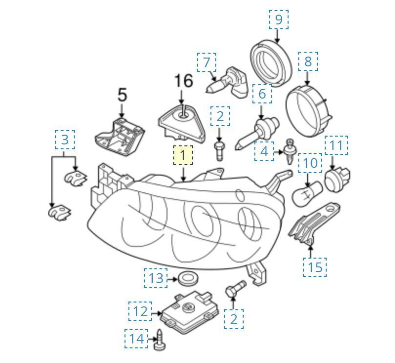 2006 Mazda 3 Headlight Wiring Diagram from www.mazda3revolution.com