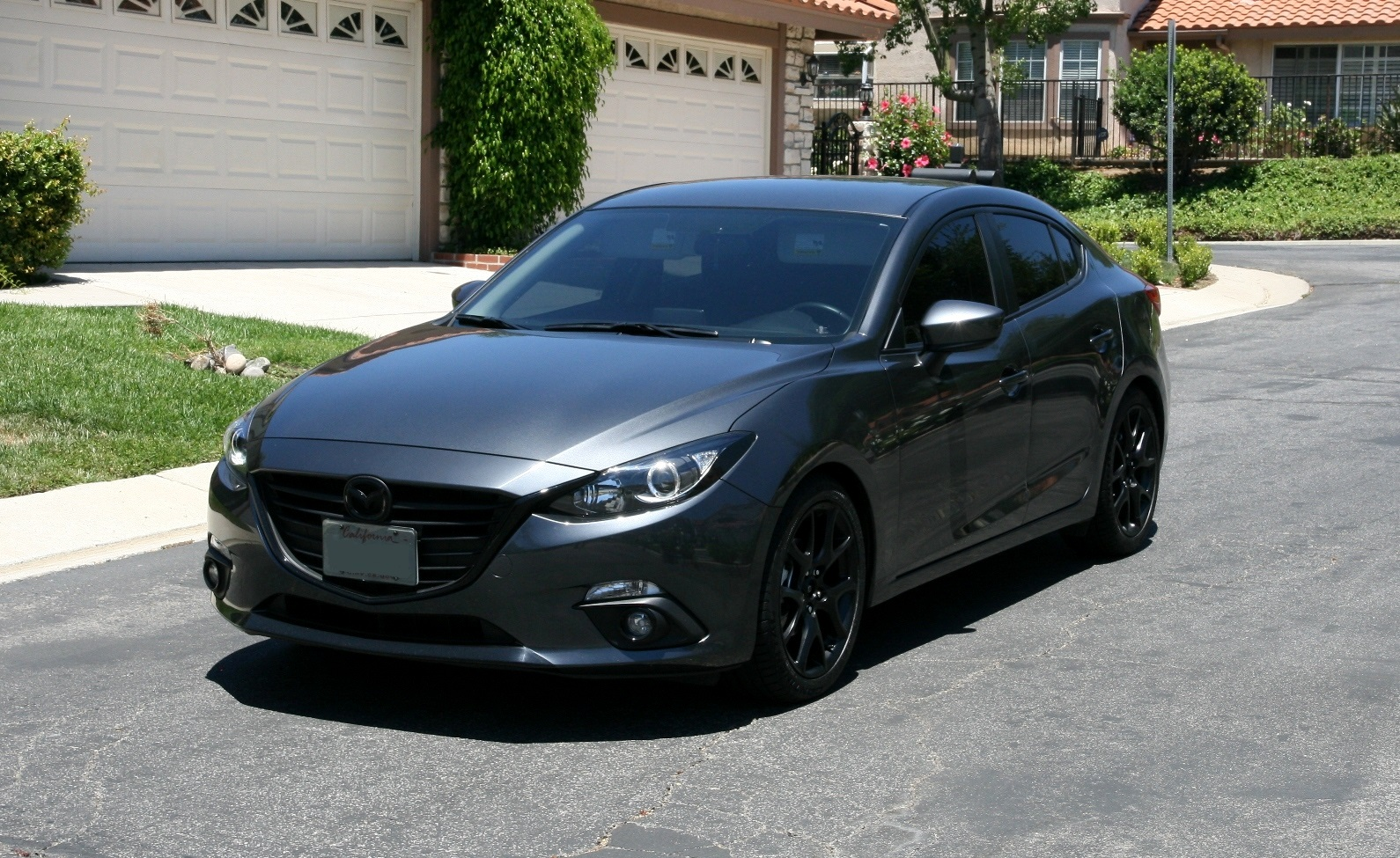 black rims for mazda 3 best cars modified dur a flex. Black Bedroom Furniture Sets. Home Design Ideas