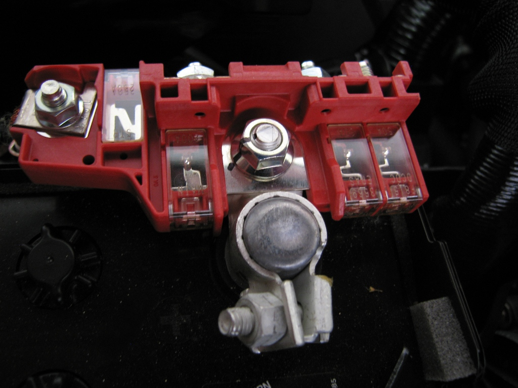 Fuses On The Positive Battery Terminal 2004 To 2016 Mazda 3 Forum Fuse Box Replacement Click Image For Larger Version Name Img 5154a Views 1535 Size 2837