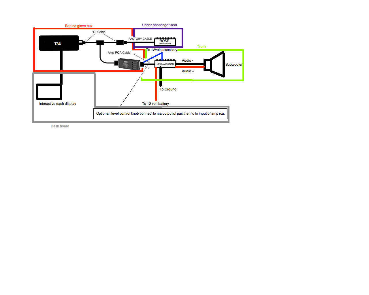 subwoofer wiring diagram image wiring diagram mazda 6 bose subwoofer wiring diagram wiring diagrams on 6 subwoofer wiring diagram