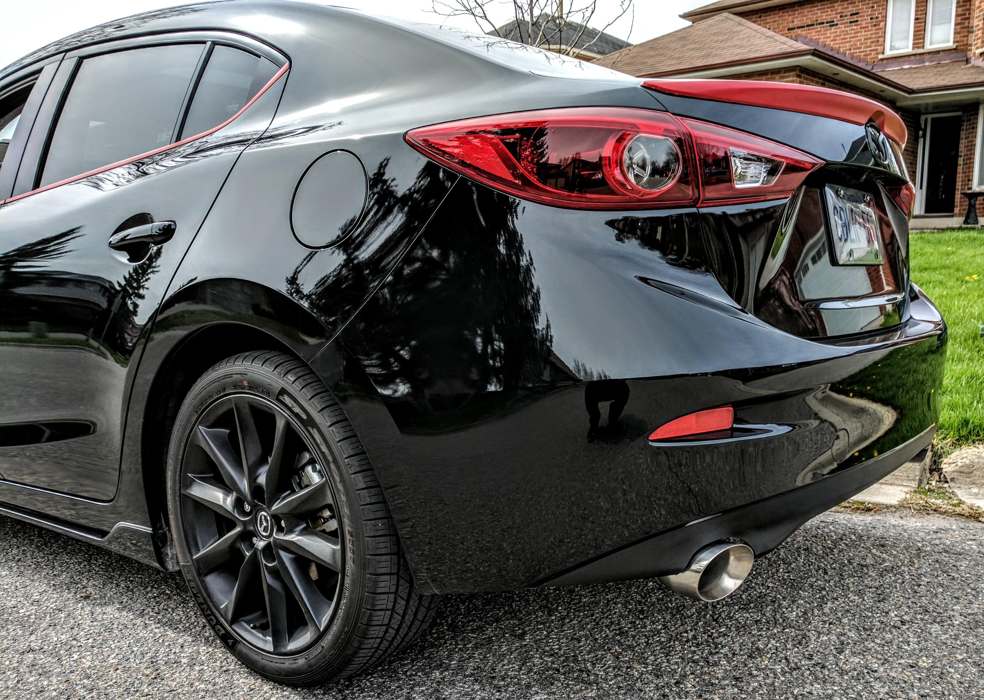 Mazda 3 2017 Custom >> 2017 Mazda 3 Gt Sedan Custom Exhaust 2004 To 2016 Mazda 3 Forum