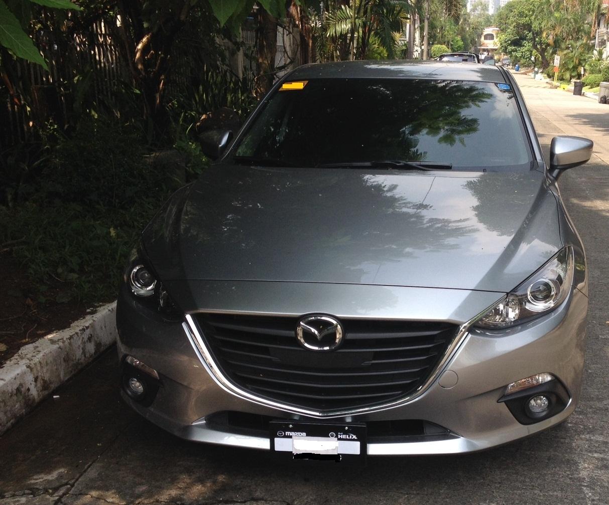DIY Plate Relocation for Mazda 3 2014 Sedan - 2004 to 2016 Mazda 3 ...