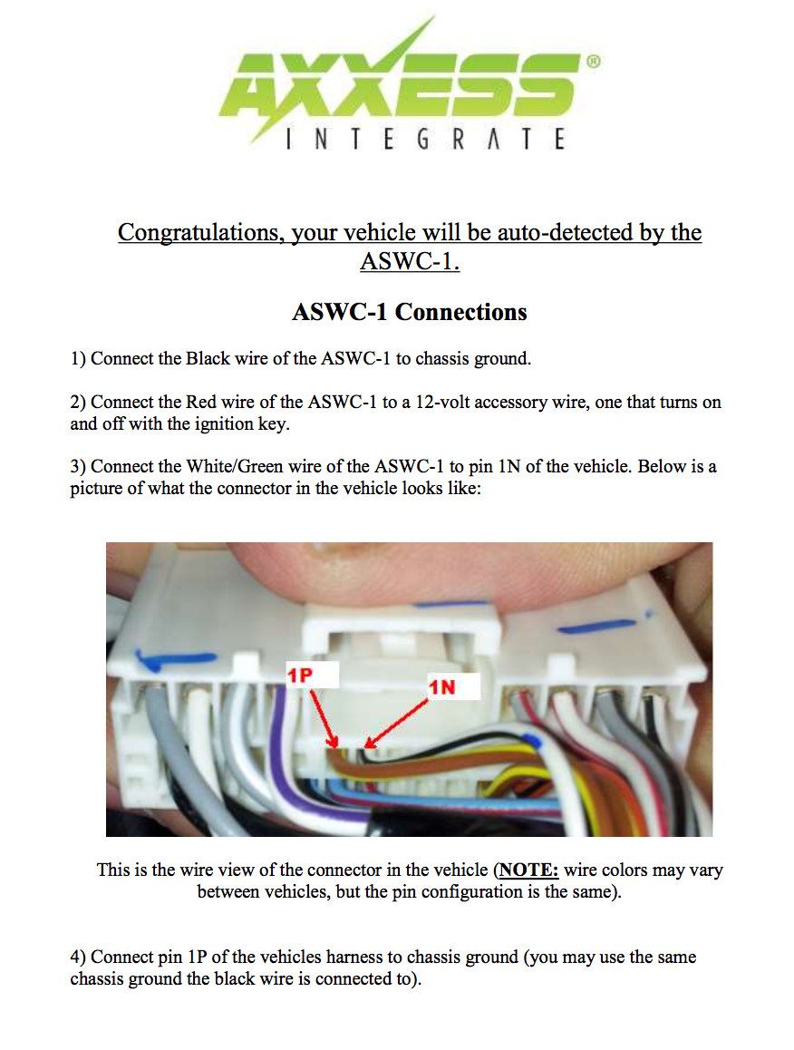 Axxess Aswc 1 Install 2004 To 2016 Mazda 3 Forum And Mazdaspeed 2007 Wiring Diagram Chasey Click Image For Larger Version Name Screen Shot 10 05 At 458