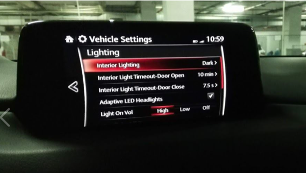 Genuine Mazda CX-3,CX-5 Welcome Illumination Lights Wiring Kit C850-V7-055A