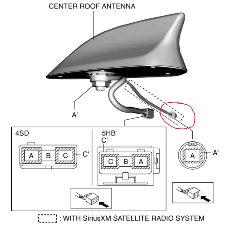 Disconnecting XM Antenna? | 2004 to 2016 Mazda 3 Forum and