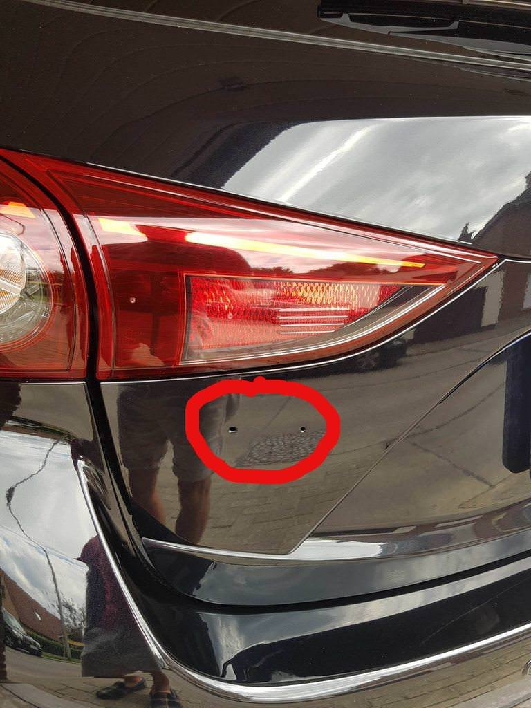 Mazda 3 hatchback 2017 emblem removal. | 2004 to 2016 Mazda 3 Forum on