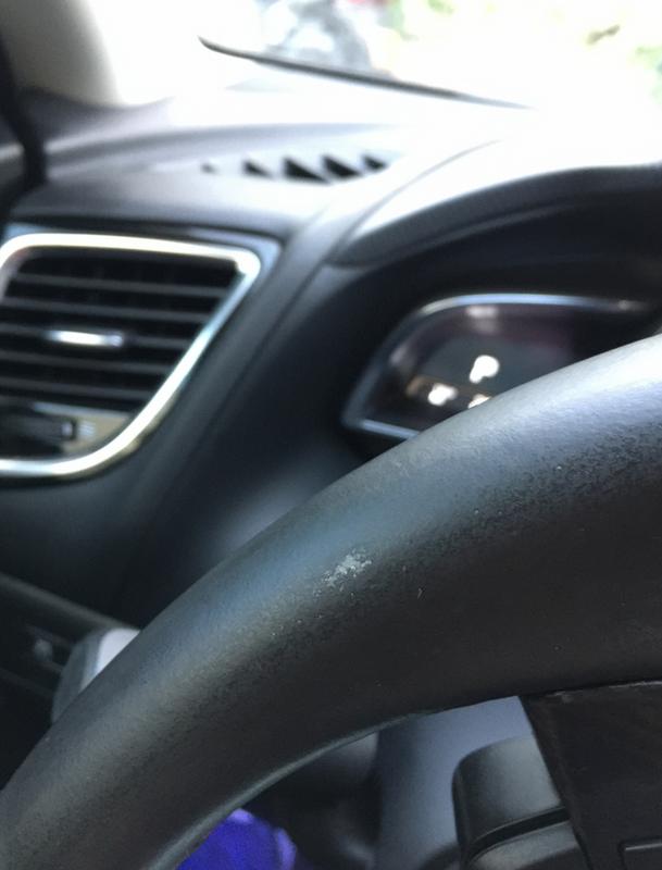 Steering Wheel Cleaner >> Steering Wheel Leather Peeling Already 2004 To 2016 Mazda