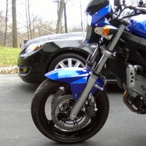 SV650 wit the speed