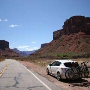 On the way to Moab, UT.