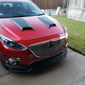 Modified 2016 Mazda3 iTouring